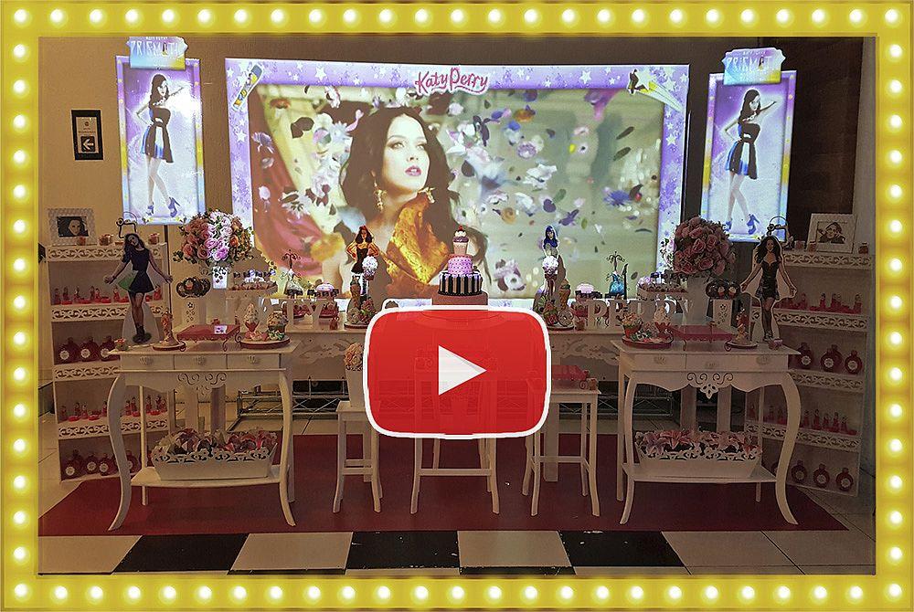 Projeção Mapeada Mesa Provençal Especial Katy Perry