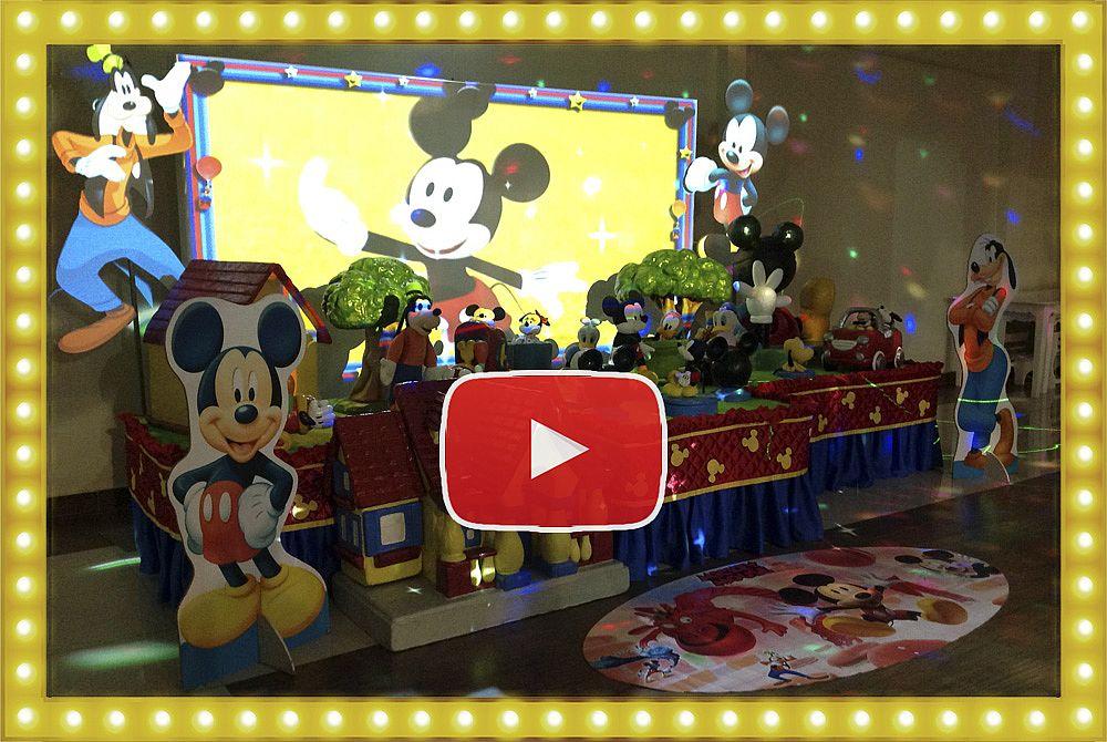 Projeção Mapeada Mickey