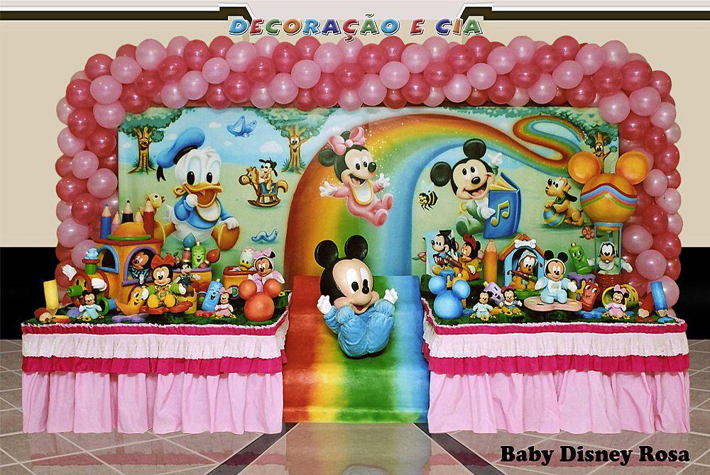 Baby Disney Rosa