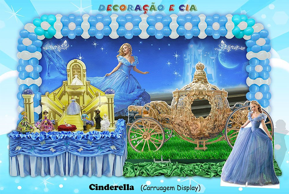 Cinderella – Carruagem Display