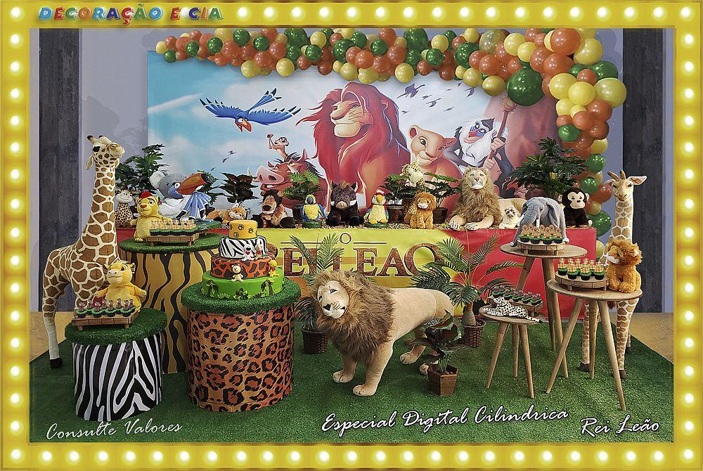 Esp. Digital Cilindrica – Rei Leão