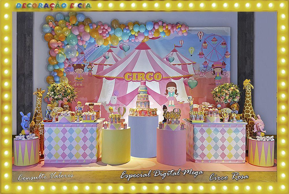 ..Esp. Digital Mega – Circo Rosa