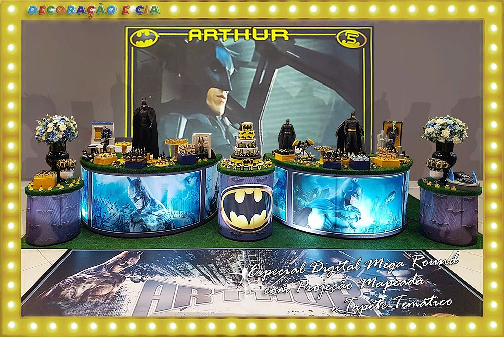 …Esp. Digital Mega Round – Batman