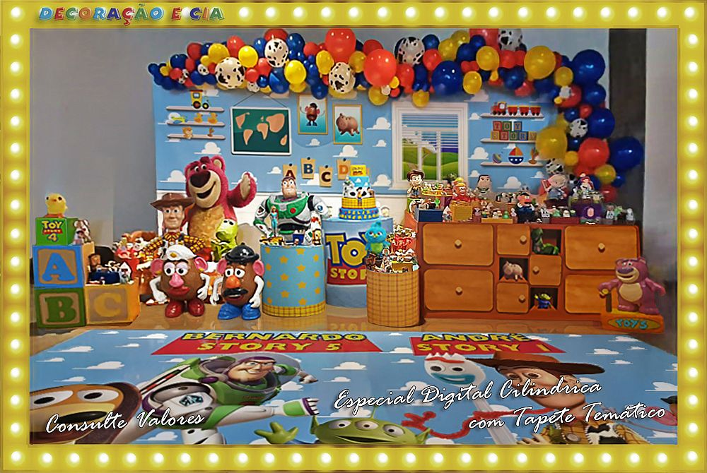Esp. Digital Cilindrica – Toy Story