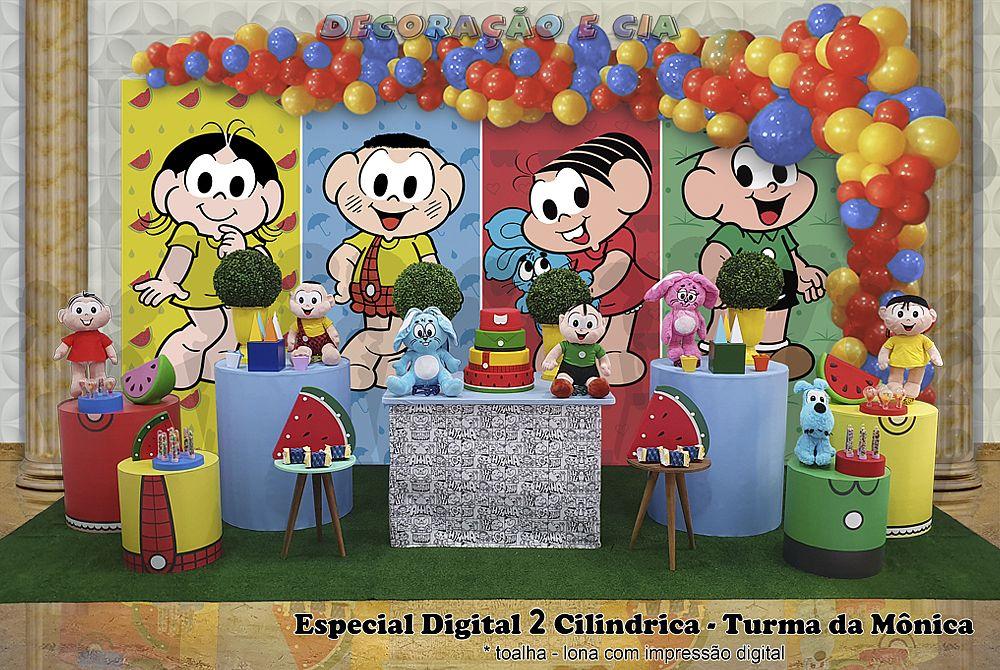 .Esp. Digital 2 Cilindrica – Turma da Mônica