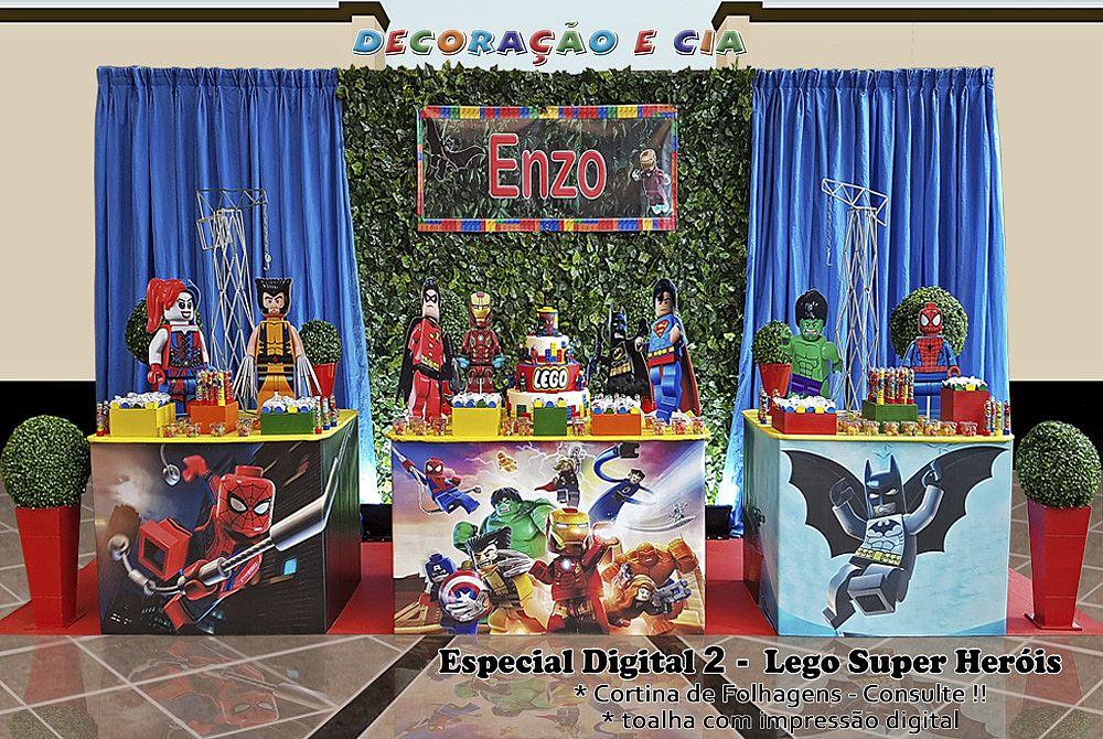 .Esp. Digital 2 – Lego – Super Heróis
