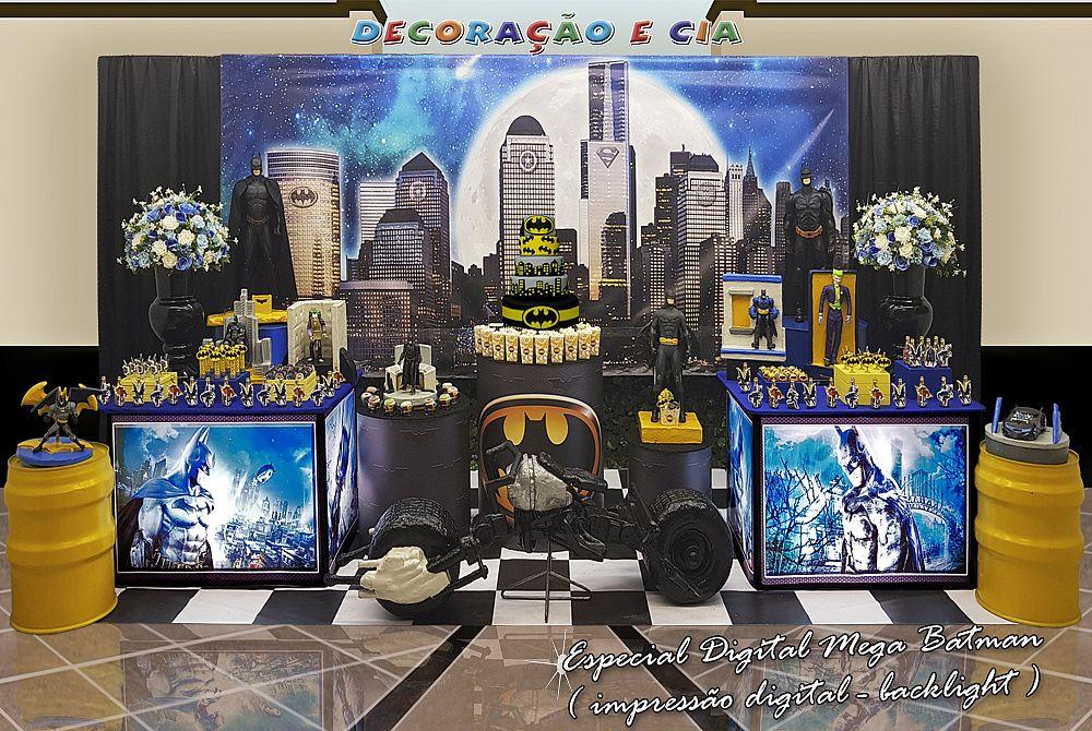 ..Esp. Digital Mega – Batman com Backlight