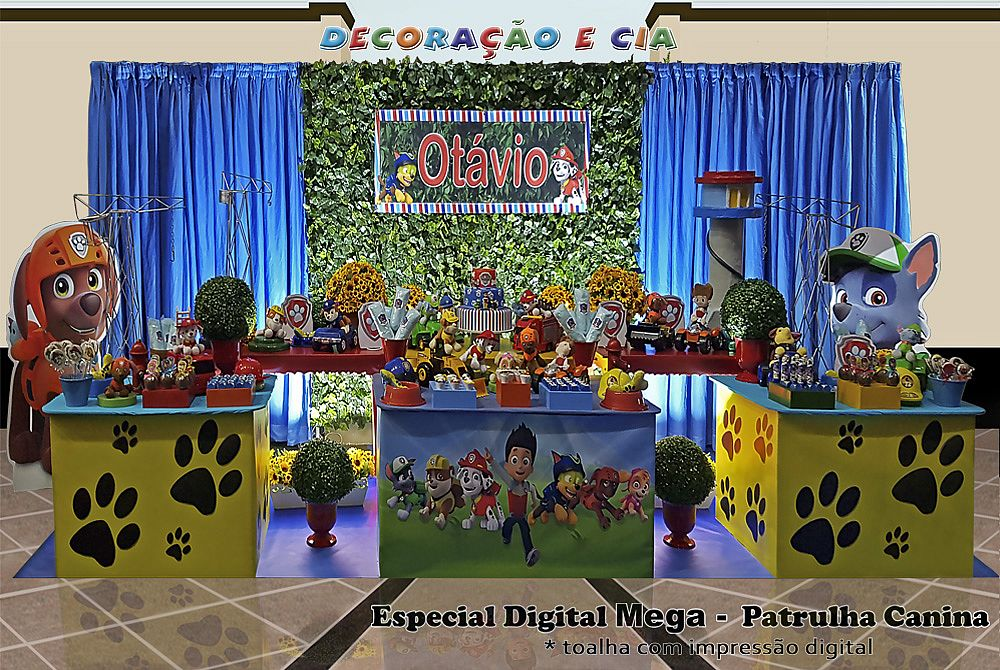 ..Esp. Digital Mega – Patrulha Canina