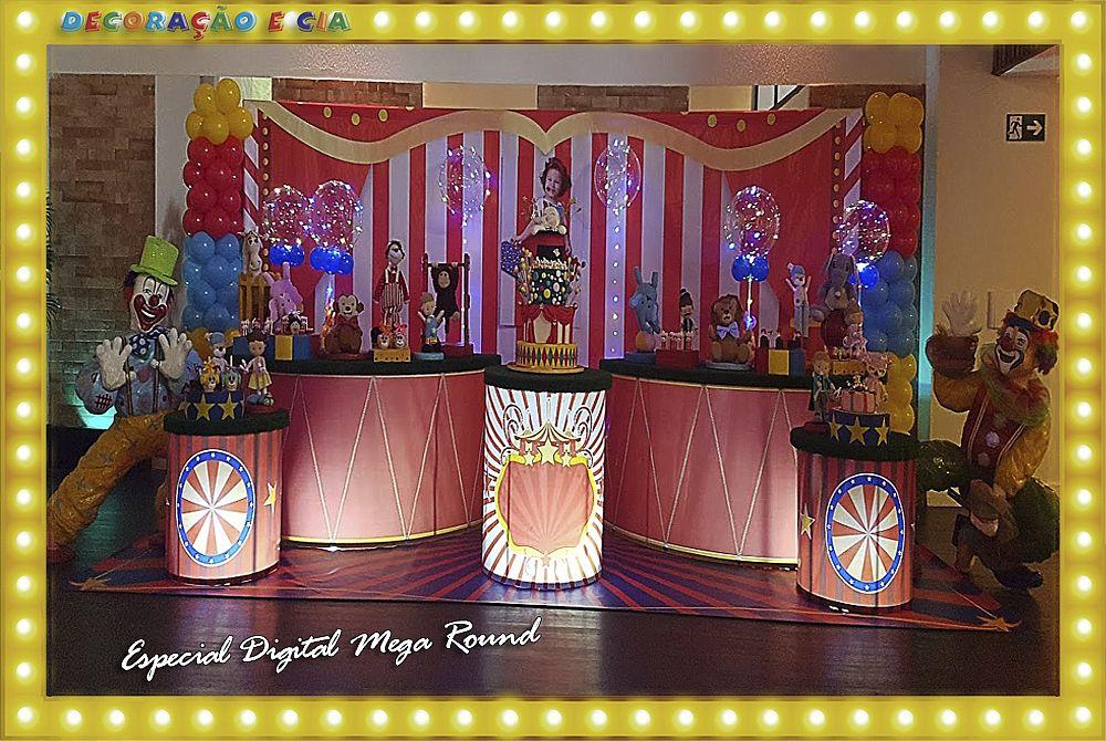 …Esp. Digital Mega Round – Circo
