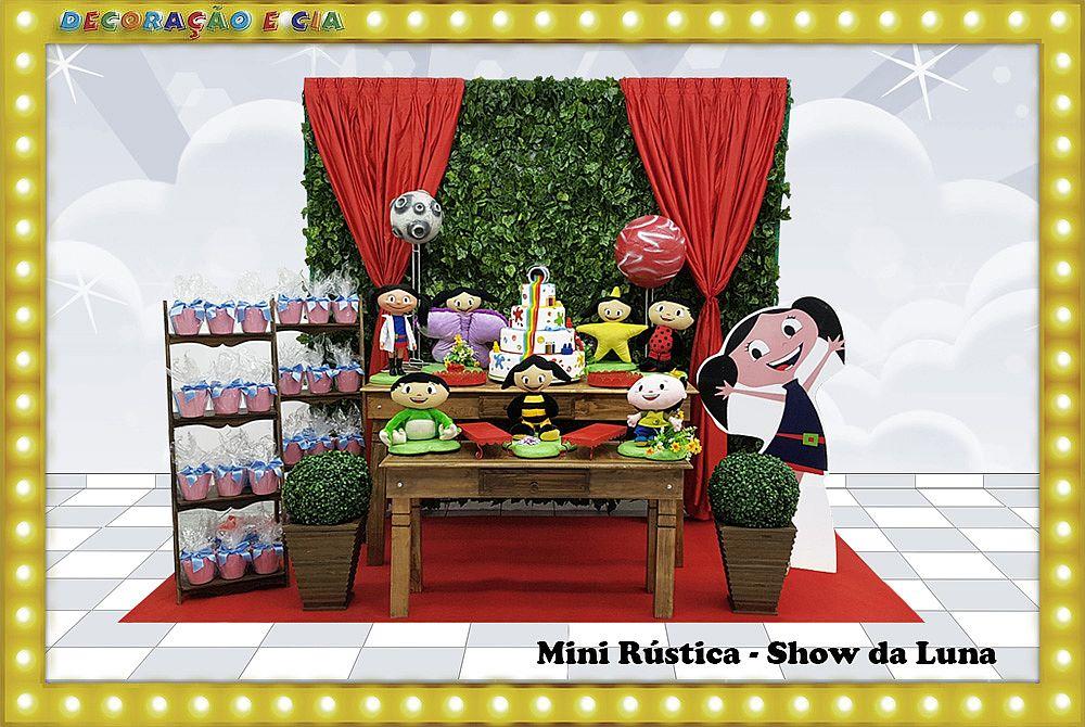 Mini Rústica – Show da Luna