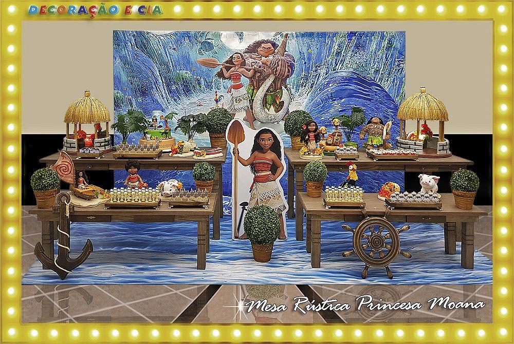 Rústica Princesa Moana