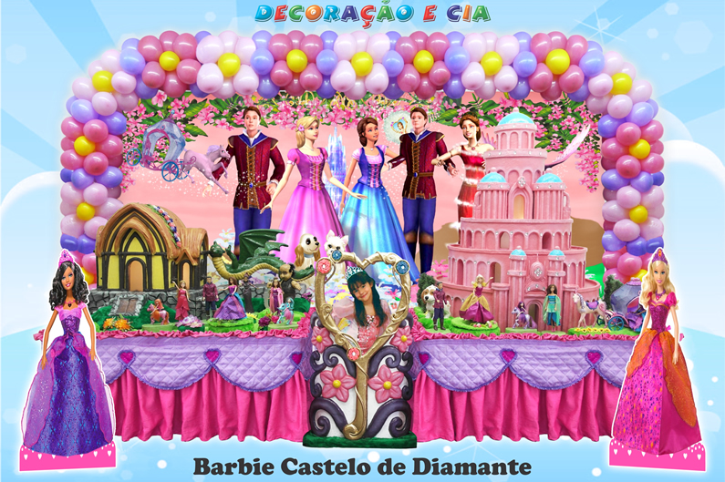 Barbie Castelo de Diamante