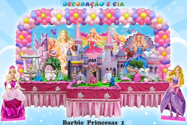 Barbie Princesas 1