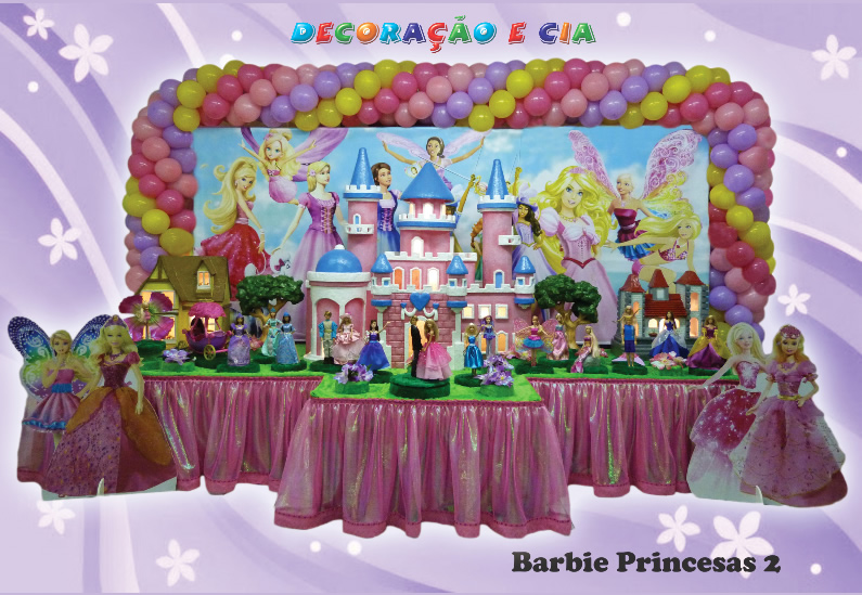 Barbie Princesas 2