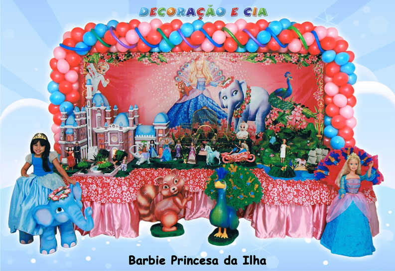 Barbie Princesas da Ilha