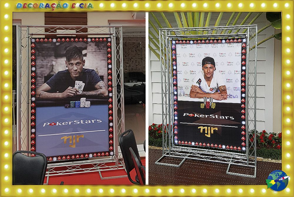 EVENTO NEYMAR JR / POKER STARS