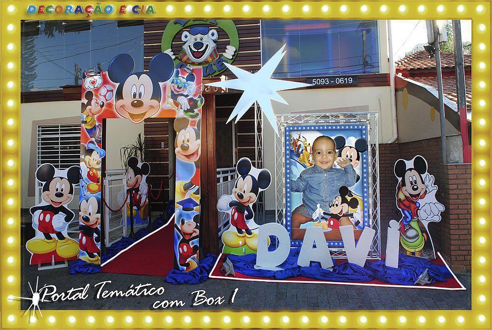 Mickey – Portal Temático com Box 1