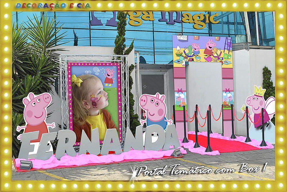 Peppa Pig – Portal Temático com Box 1