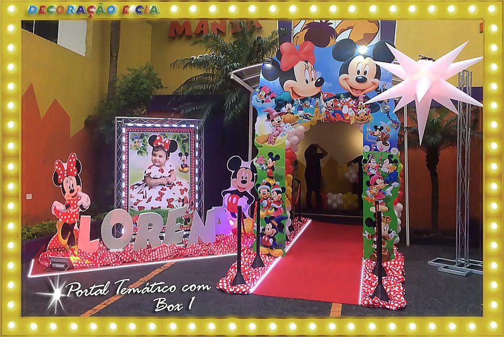 Mickey e Minnie – Portal Temático com Box 1