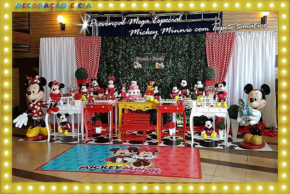 PROVENÇAL MEGA – Mickey e Minnie