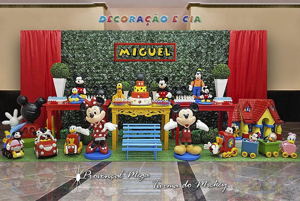 Provençal Mega Turma do Mickey