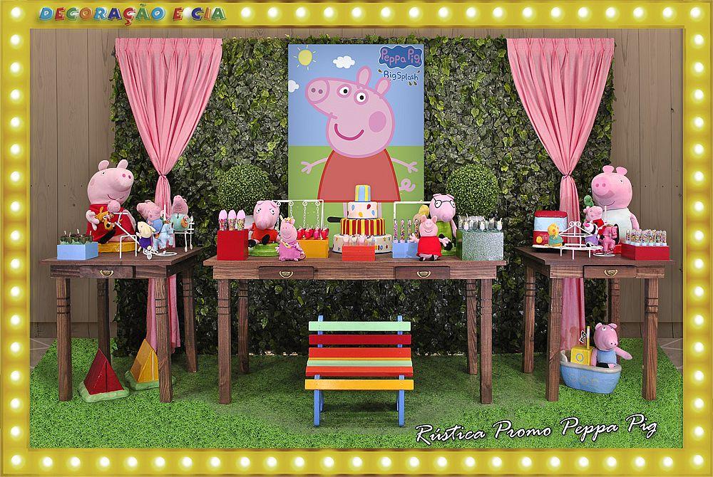 ..RÚSTICA PROMO – Peppa Pig
