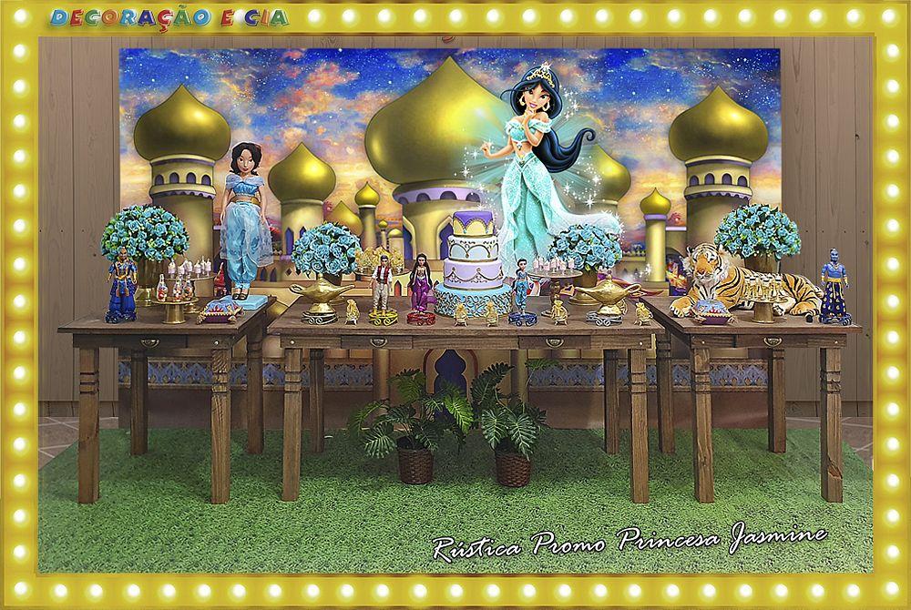 ..RÚSTICA PROMO – Princesa Jasmine