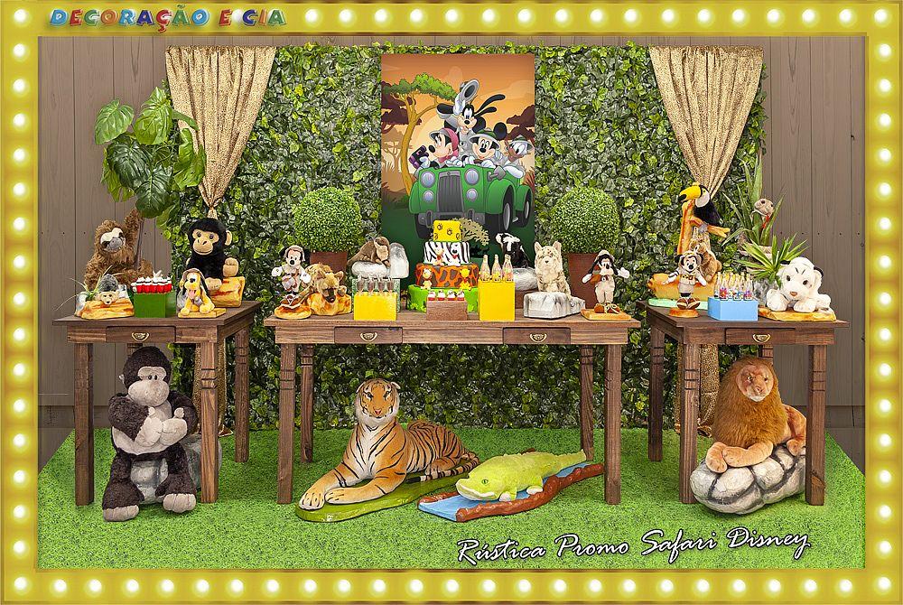 ..RÚSTICA PROMO – Safari Disney
