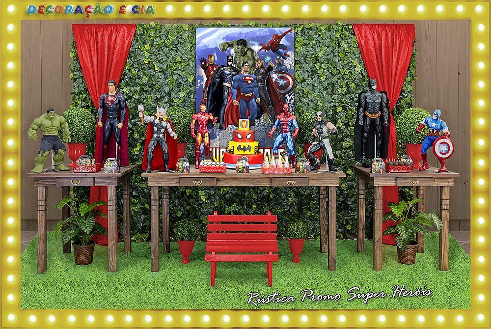 ..RÚSTICA PROMO – Super Heróis