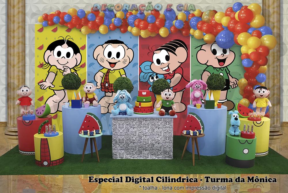 Esp. Digital Cilindrica – Turma da Mônica