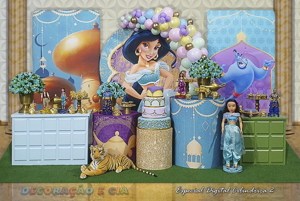 Esp. Digital Cilindrica 2 – Princesa Jasmine