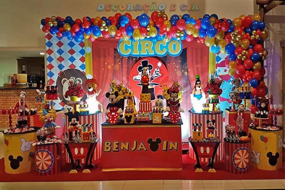 ..Esp. Digital Mega – Circo Mickey