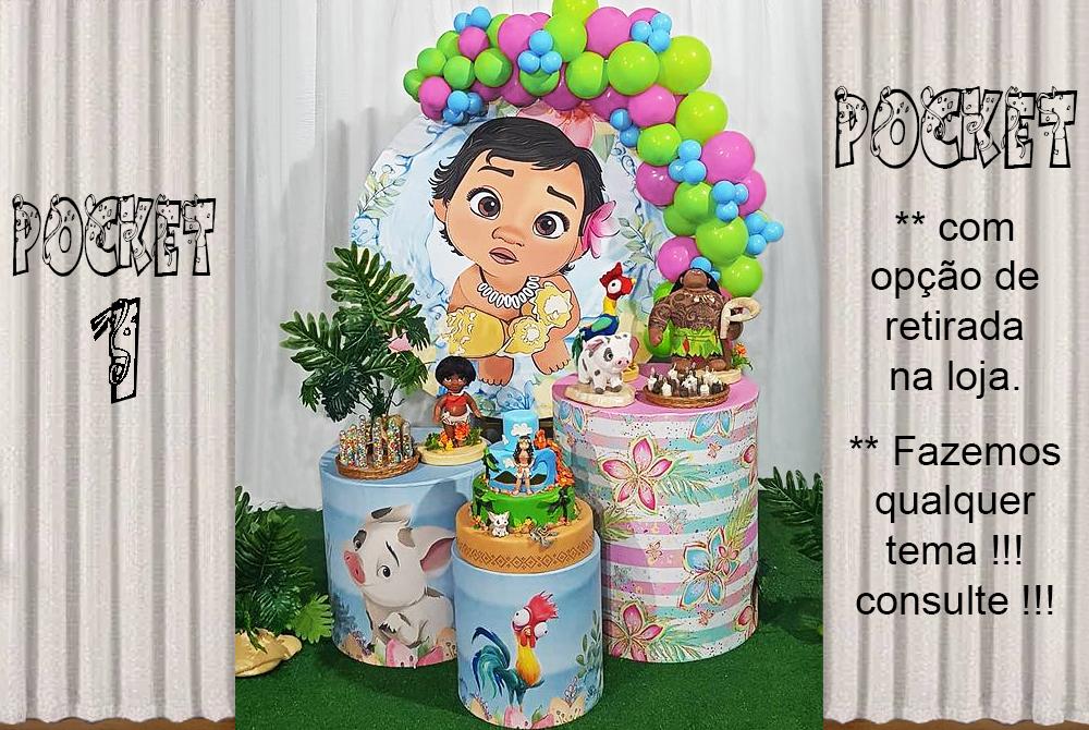 POCKET 1 – PRINCESA MOANA BABY