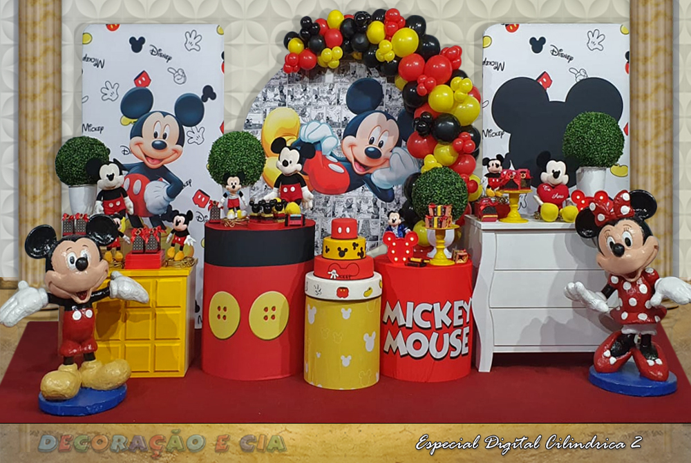 Esp. Digital Cilindrica 2 – Mickey