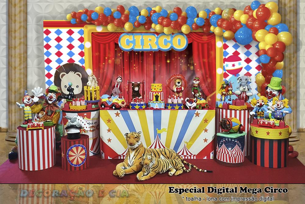 ..Esp. Digital Mega – Circo